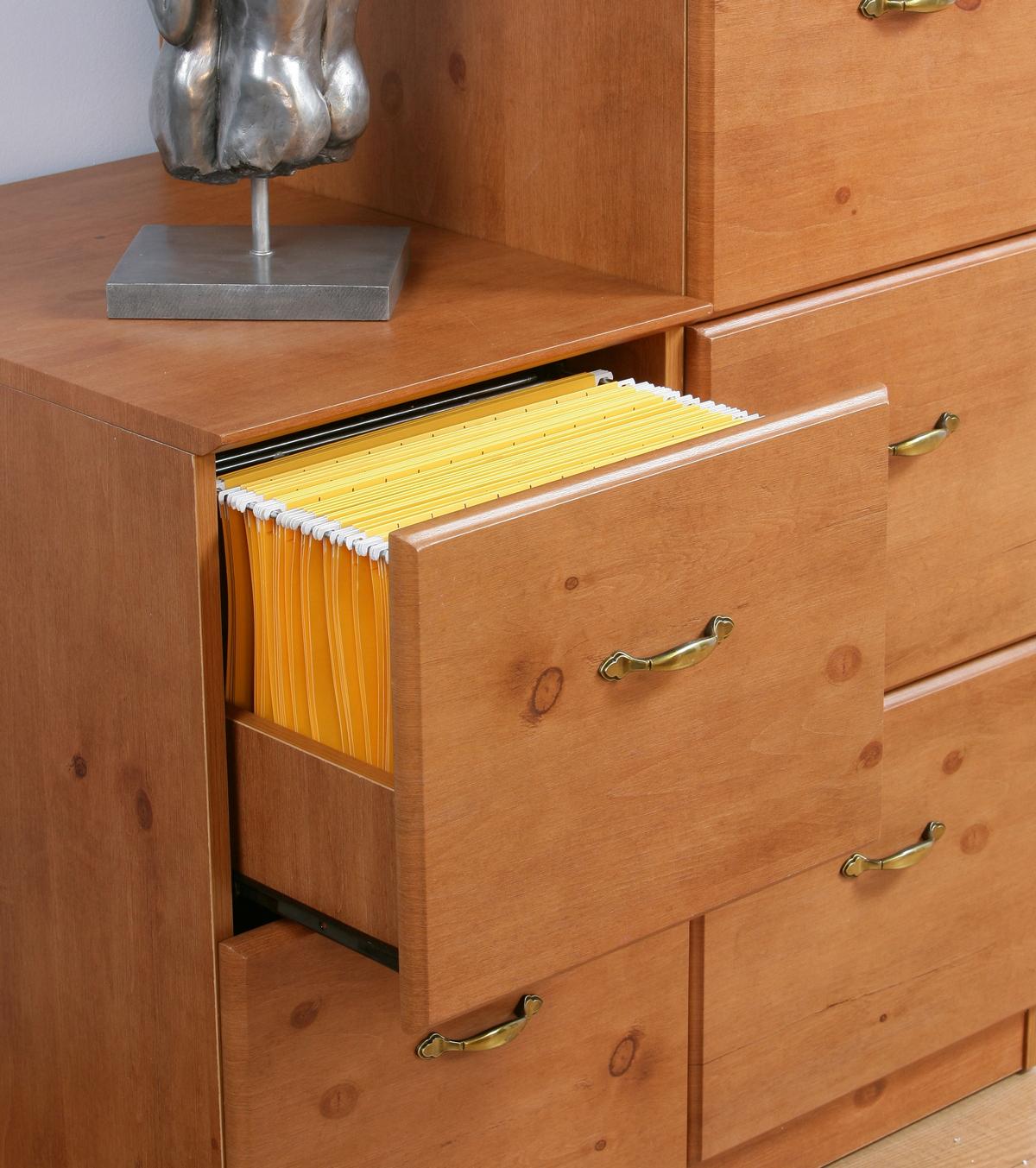 French Gardens 4 Drawer Filing Cabinet - Teknik Office - French Gardens 4 Drawer Filing Cabinet