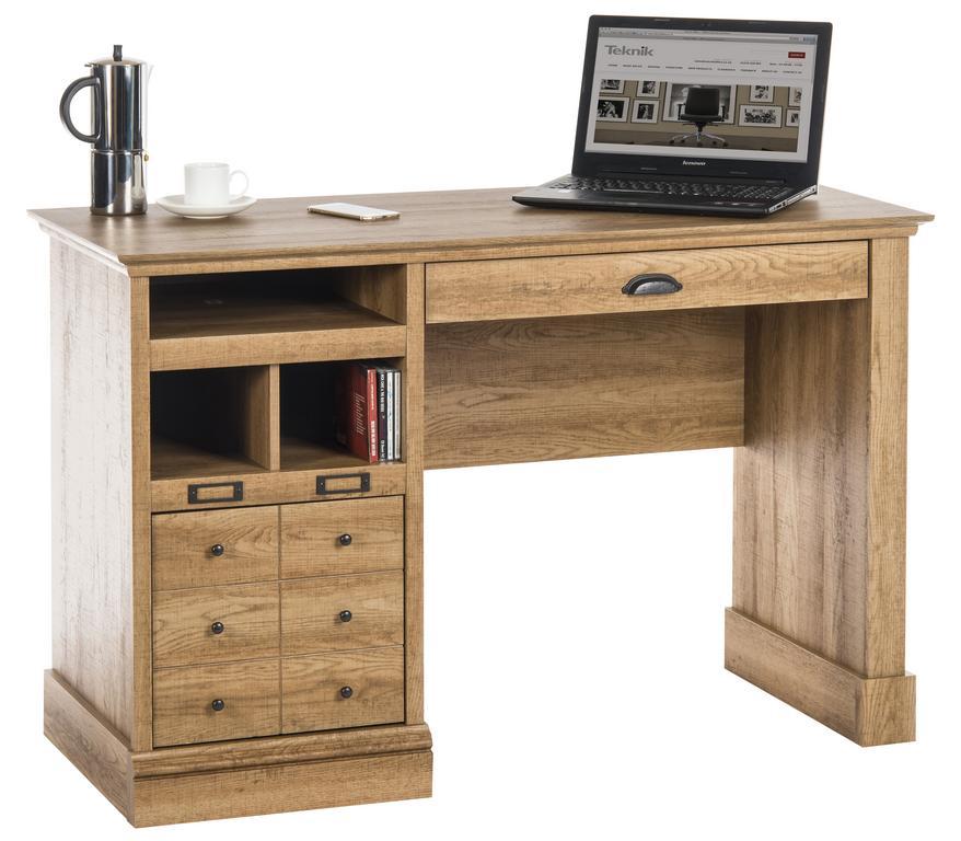Scribed Oak Desk